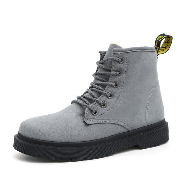 Winter new warm High top Boots women fashion snow boot women(Grey) - intl ...