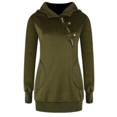 Womens Sports And Leisure Large Size Long Sleeve Sweater(green) - Intl ราคา 290 บาท(-50%)