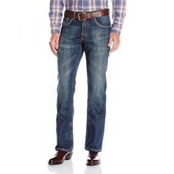 Wrangler Mens 20 x No. 42-Vintage Boot Cut Jean Storm Blue 33x30 - intl