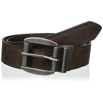 Wrangler Mens Authentics Military Buckle Reversible Belt brown/black 36 - intl