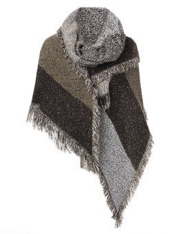 ZANZEA Winter Women Thick Warm Wool Pashmina Cashmere Stole Scarves Scarf Shawl Wraps
