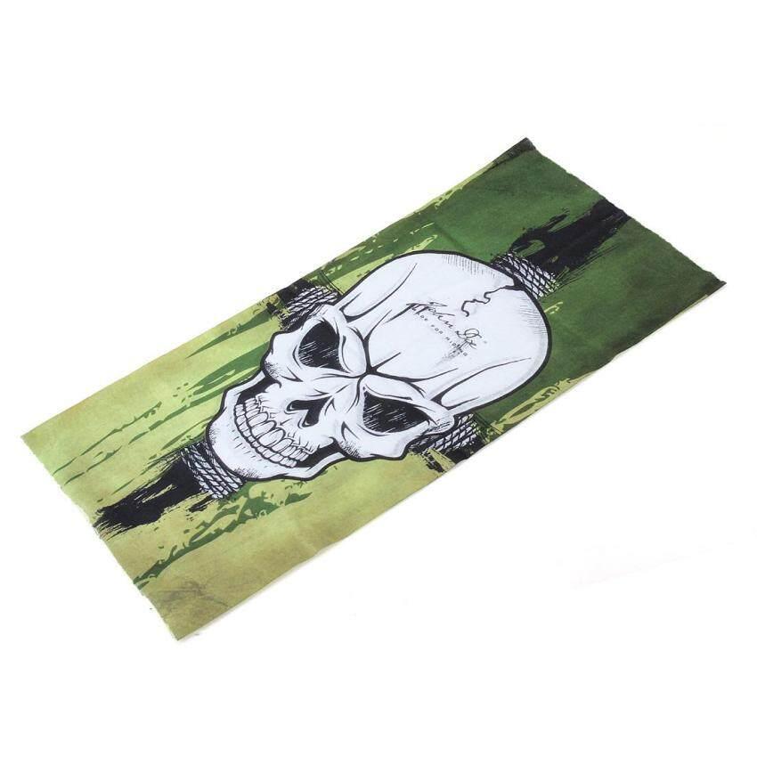 10 pcs CS Skull Mask Windproof Headscarf Cycling Face Guard Masks Scarves - intl