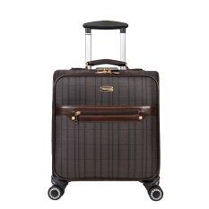 16 Inch Mini Valise Fly Through Checkpoint Friendly Spinner Rolling luggage (Intl) ส่งฟรี
