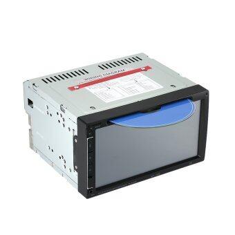 17.78ซมสากล 2 din รถ DVD USB/SD/บันเทิงวิทยุบลูทูธเครื่องเล่นมัลติมีเดียระบบ hd