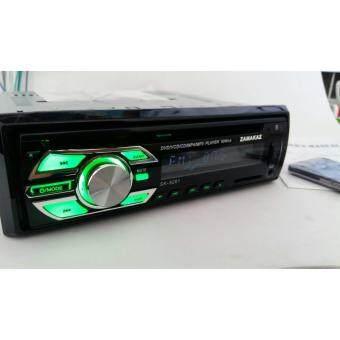 วิทยุ1din zamakaz รุ่น K-99 เสียบ DVD USB SD CARD