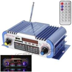 เครื่องเสียงรถยนต์ 2 ช่องสัญญาณดิจิตอล แอมพลิไฟเออร์ระบบเสียง 12 V  รองรับ FM SD USB MP3