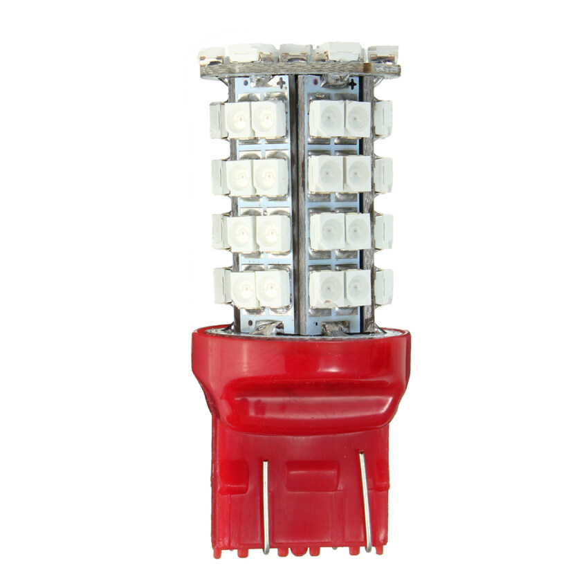 2 PCS Red LED Bulb 3528 SMD 7443 7440 T20 Tail Stop Brake Signal Light Lamp - intl ...