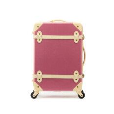 "20"" EDDAS Pink Luggage Spinner Wheel Vintage Hard Shell Suitcase EV501 (Pink) โปรโมชั่น"