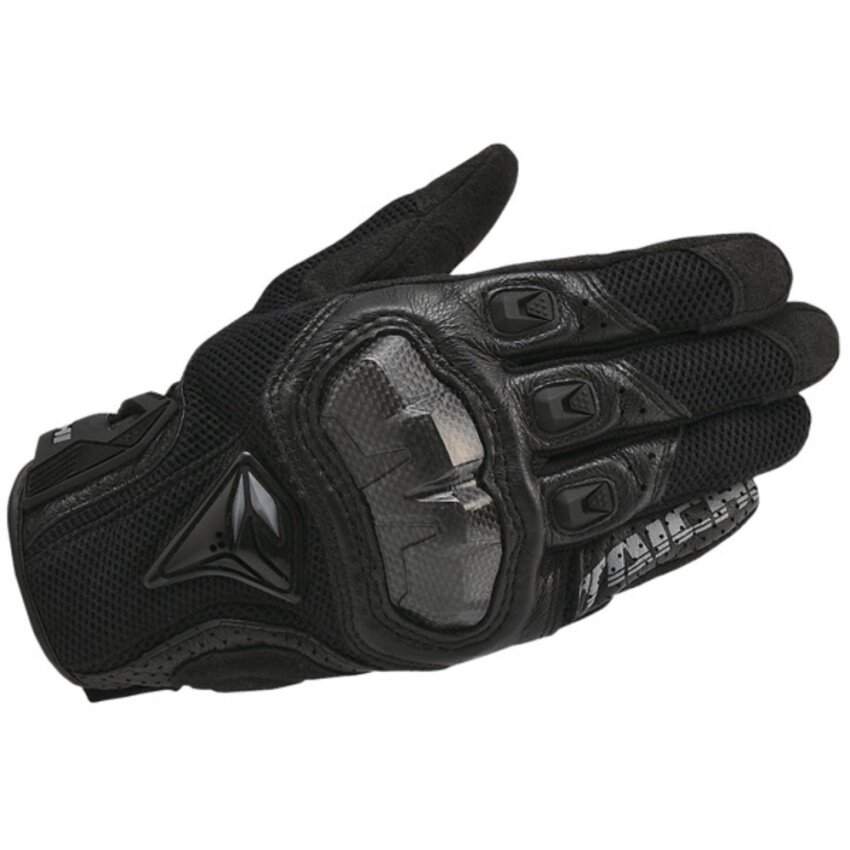 2017 NEW Taichi RST391 Mens Perforated leather Motorcycle Mesh Gloves-M size - intl
