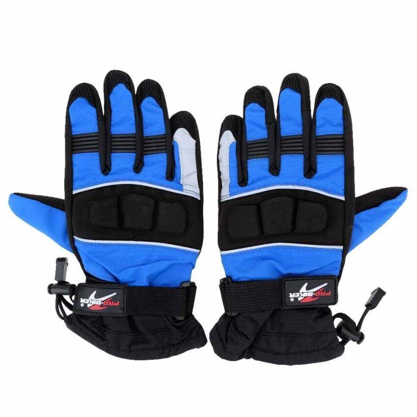 2Pcs Pro-biker Winter Waterproof Windproof Thermal Motorcycle Racing Gloves