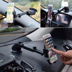 ที่จับมือถือ 3 in 1 เอนกประสงค์ ในรถยนต์ Car Phone Holder ยืดและหมุนได้ 360 องศา  SL-2