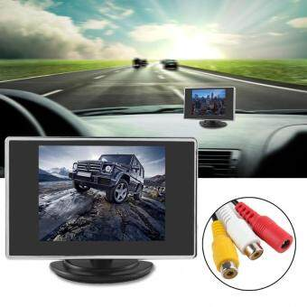 3.5 Inch 320 x 234 Pocket-sized Color TFTLCD Display Car Rear View Monitor with 2-Channel Video Input