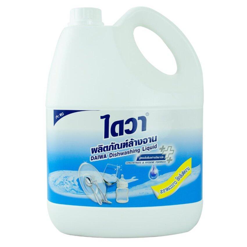 ไดวา น้ำยาล้างจานสูตรอนามัย 3800มล