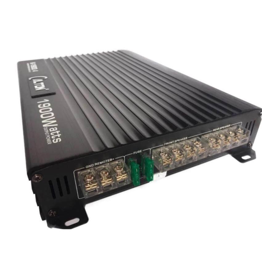 แอมป์ 4ch Audiopipe k1900.4 เพาเวอร์แอมป์4ชาแนลขยายเสียงลำโพงติดรถยนต์ กลาง/แหลม