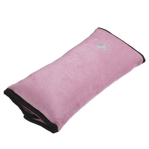 5PCS Car Seat Belt Cover Cushion Shoulder Harness Pad Soft Sleep Pillow Pink - intl