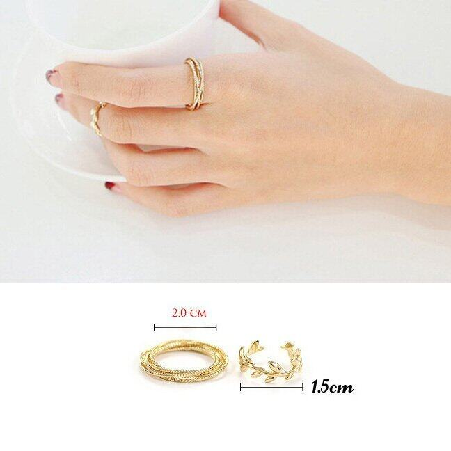 aaa 6PCS/Set Rings Urban Gold Plated Crystal Plain Above Knuckle RingBand Midi Ring Sbobet