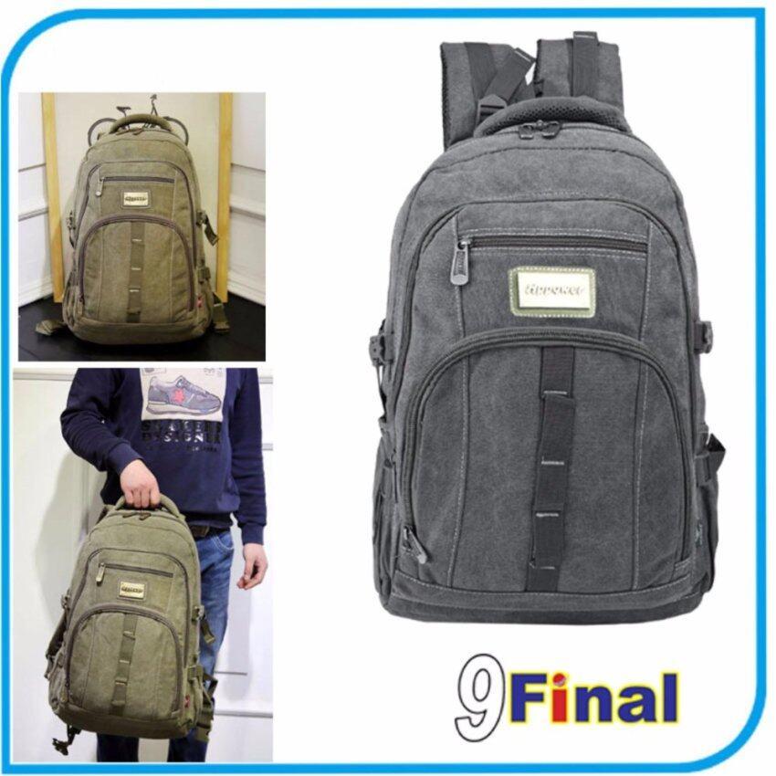9FINAL กระเป๋าใส่โน๊ตบุ๊ค Model. 8101 สีดำ เป้ใส่ notebook กระเป๋าคอมพิวเตอร์ กระเป๋าเป้สะพายหลัง กระเป๋าสะพายหลัง Notebook LABTOP Bag BackPack สีดำ (Black Color)