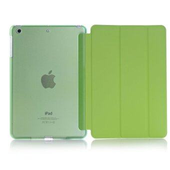 Apple 2016 iPad Pro (9.7) / iPad Air 2 (ipad 6) case, Welink Ultra Slim Smart Cover PU Leather Case for Apple 2016 iPad Pro (9.7) / iPad Air 2 (ipad 6) (Green)