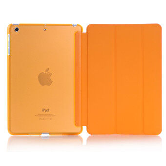 Apple 2016 iPad Pro (9.7) / iPad Air 2 (ipad 6) case, Welink Ultra Slim Smart Cover PU Leather Case for Apple 2016 iPad Pro (9.7) / iPad Air 2 (ipad 6) (Orange)