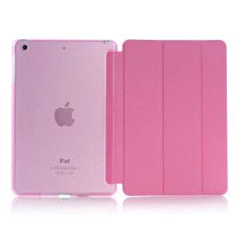 Apple 2016 iPad Pro (9.7) / iPad Air 2 (ipad 6) case, Welink Ultra Slim Smart Cover PU Leather Case for Apple 2016 iPad Pro (9.7) / iPad Air 2 (ipad 6) (Pink)