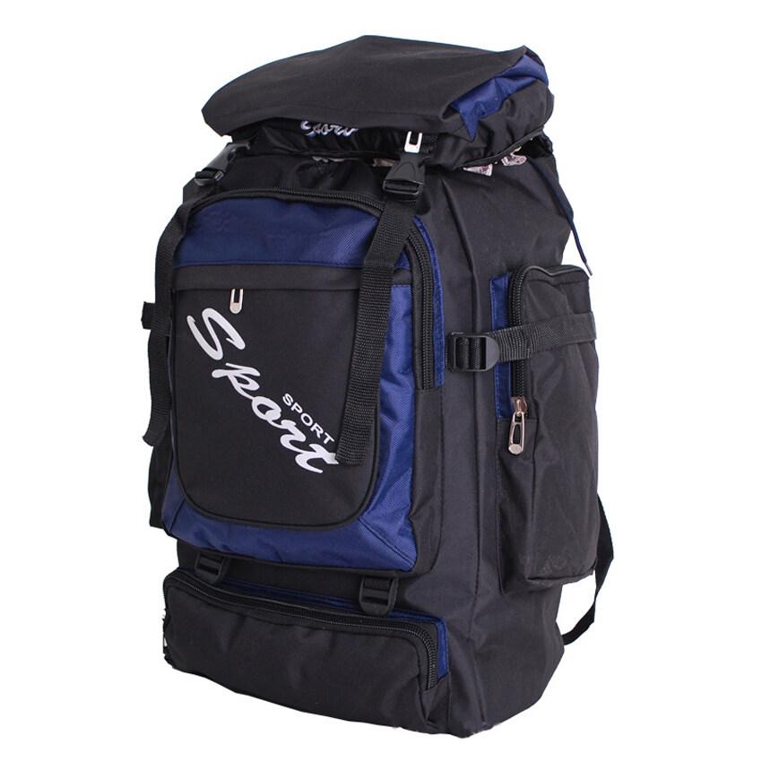 BEST HS BackPack กระเป๋าสะพายหลัง กระเป๋า backpack กระเป๋าเป้ สะพายหลังเดินทาง กระเป๋าใส่โน๊ตบุ๊ค ความจุ HSMB0012- Blue1
