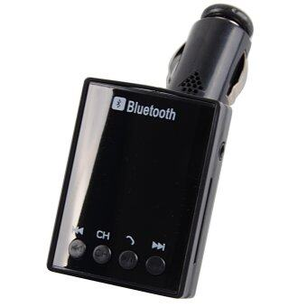 Bluetooth Car Kit MP3 FM Transmitter USB Charger for iPhone 5S/6 Samsung S6(Black)