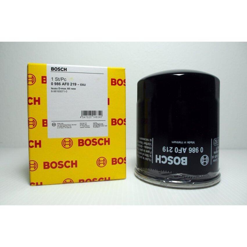 Bosch Oil Filter AF0219 กรองนำมันเครื่อง สำหรับ ISUZU ALL NEW D-MAX COMMONRAIL 2.5,3.0 / ...