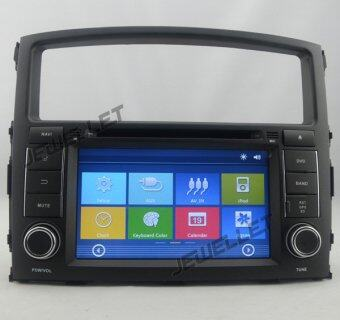 Car GPS navigation DVD for Mitsubishi Pajero 2007-2016 with Bluetooth Ipod 1080P