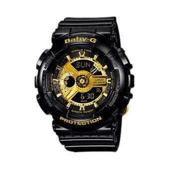 Casio Baby-G BA-110-1A (Black/Gold)