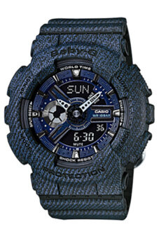 Casio Baby-G Women's Watch BA-110DC-2A1 Blue