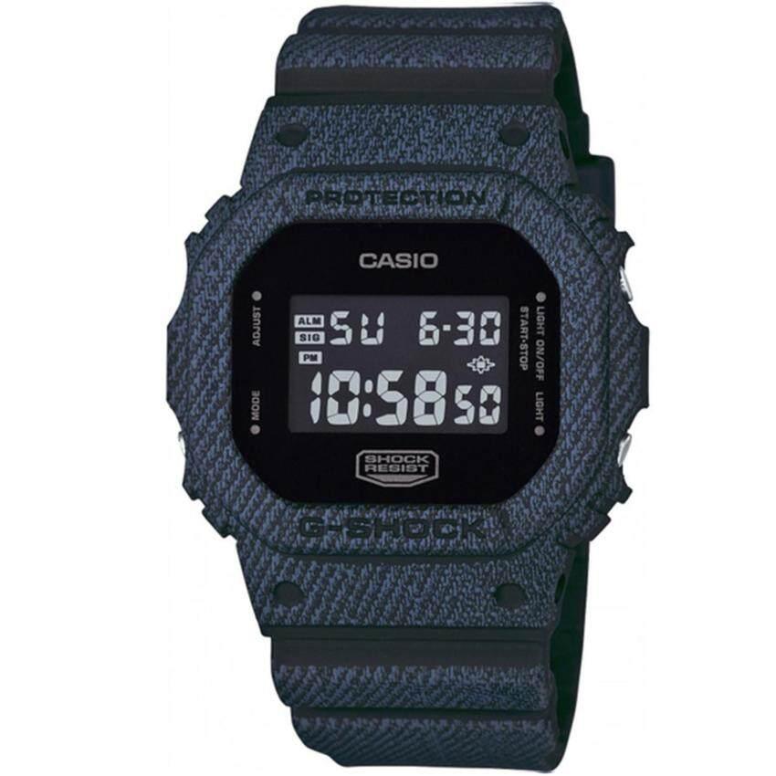 Casio G-Shock นาฬิกาข้อมือผู้ชาย สายเรซิ่น รุ่น DW-5600DC-1 - สีดำ