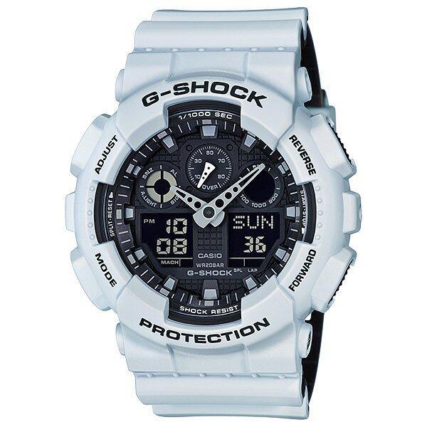 Casio G-Shock นาฬิกาข้อมือผู้ชาย สายเรซิ่น รุ่น GA-100L-7A ...