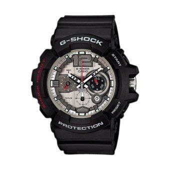 Casio g-shock นาฬิกาข้อมือ รุ่น GAC-110-1ADR - Grey/red