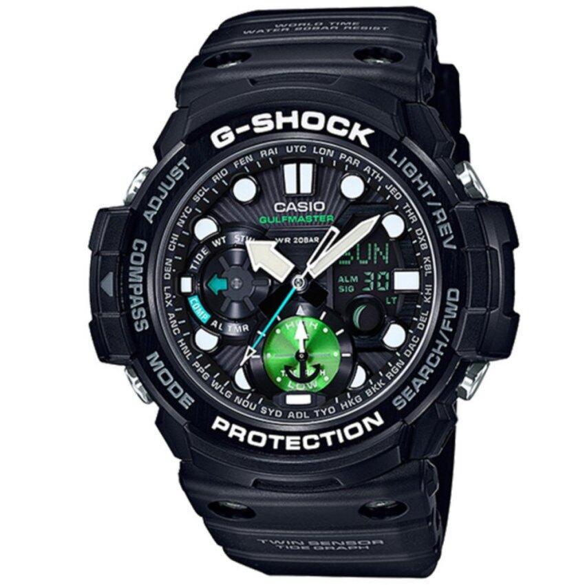 Casio G-Shock นาฬิกาข้อมือผู้ชาย สายเรซิ่น รุ่น GN-1000MB-1A - สีดำ