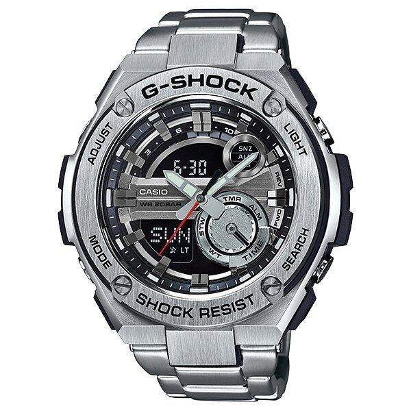 Casio นาฬิกาข้อมือ G-Shock สายเรซิ่น รุ่น GST-210D-1A