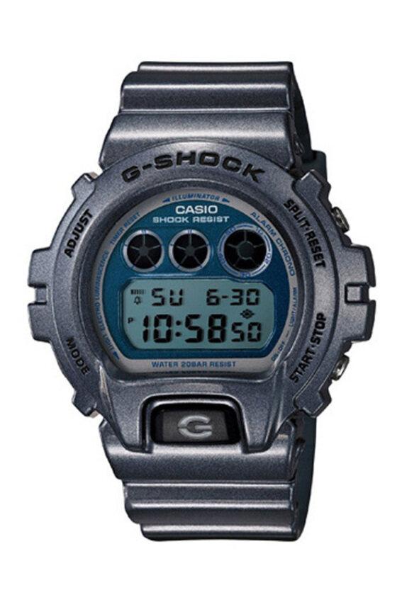 Casio G-Shock Men's Resin Strap Watch Blue DW-6900MF-2