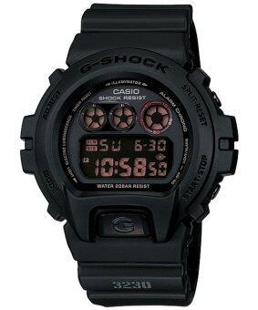 Casio G-Shock นาฬิกาข้อมือผู้ชาย สีดำด้าน สายเรซิ่น รุ่น DW-6900MS-1DR image