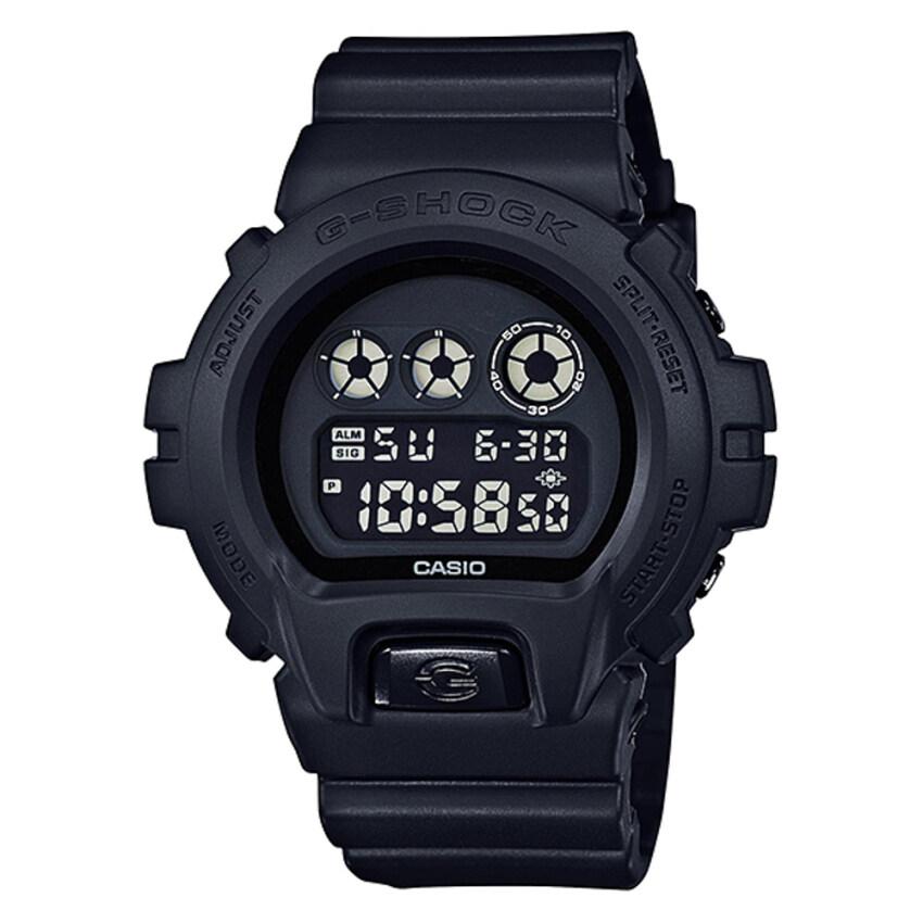 ด่วน Casio G-Shock นาฬิกาข้อมือ - รุ่น DW-6900BB-1DR Black (ดำด้าน) กำลังลดราคา
