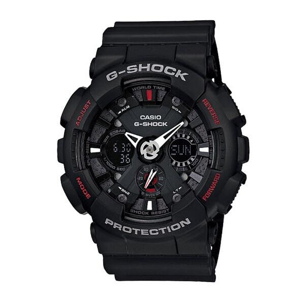 รีบเลย Casio G-Shock นาฬิกาข้อมือ รุ่น GA-120-1ADR (Black/Red) ลดราคา