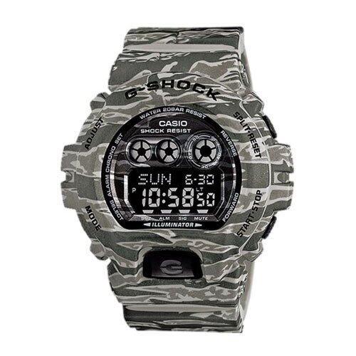 ด่วน Casio G-Shock นาฬิกาข้อมือสุภาพบุรุษ สีเทาลายพราง สายเรซิน รุ่นGd-X6900Cm-8Dr กำลังลดราคา