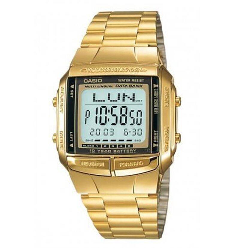 รีบเลย Casio Gold Tone นาฬิกาข้อมือผู้ชาย สายแสตนเลส รุ่น Db360G-9Adf(Gold) ลดราคา