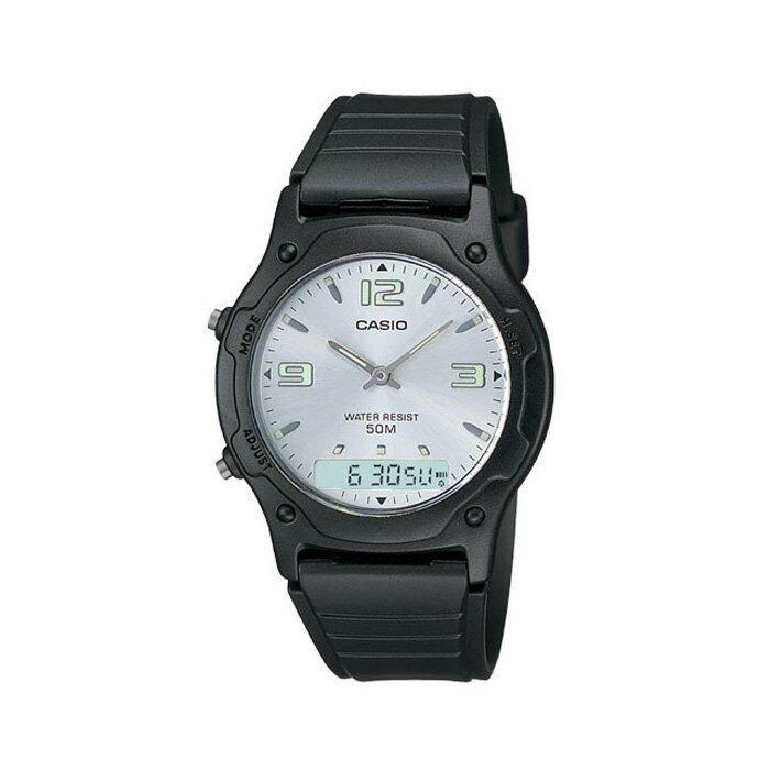 รีบเลย Casio นาฬิกาข้อมือผู้ชาย - รุ่น AW-49HE-7AVDF Black (ดำ) ลดราคา