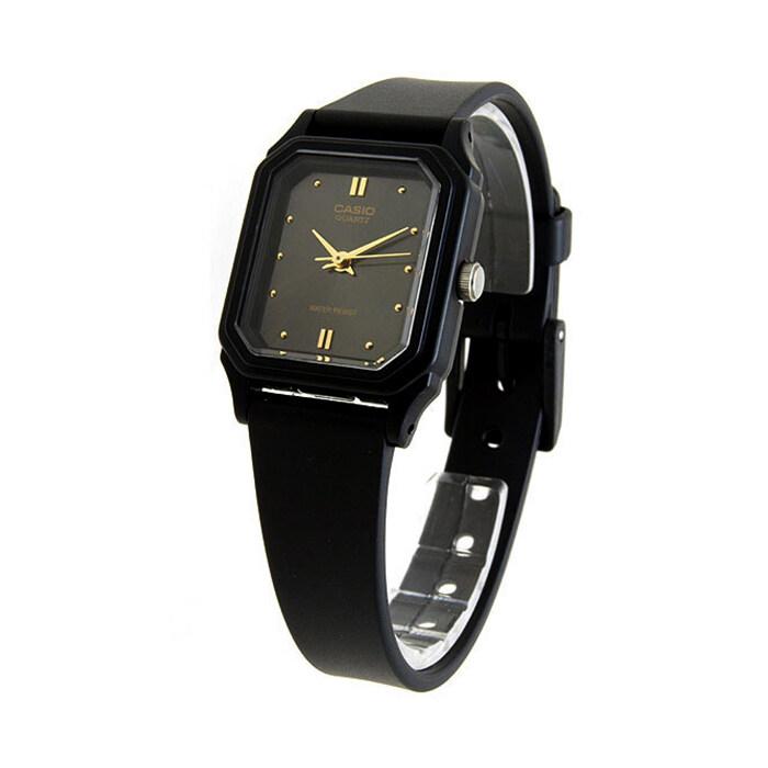 รีบเลย Casio Standard นาฬิกาข้อมือผู้หญิง - รุ่น LQ-142E-1ADF Black (ดำ) ลดราคา