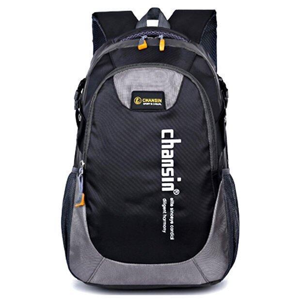 Chansin กระเป๋าเป้ รุ่น Causal Daypack สี ดำ