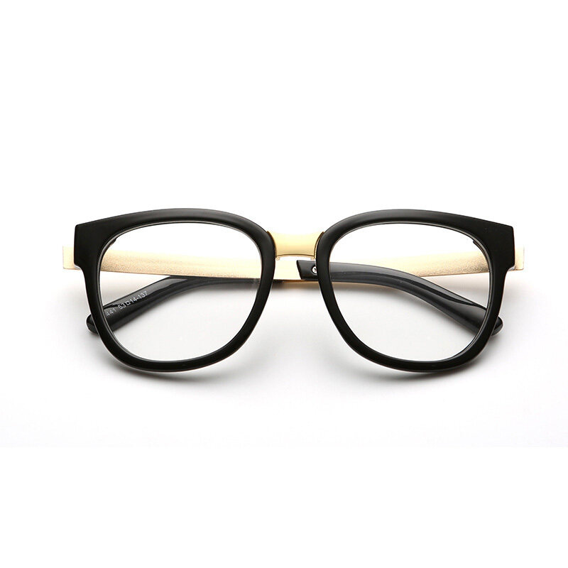 Classic Vintage Style Unisex Squared Simple Clear Lens Fashion Glasses(color2)