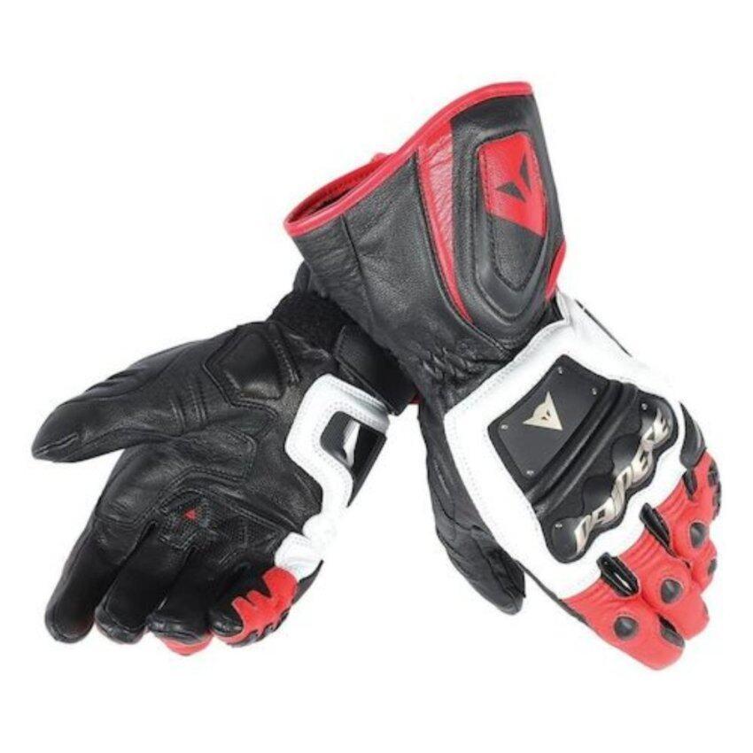 ถุงมือข้อยาว Dainese 4 Stroke Long Gloves หนังแท้ size L