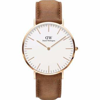 DANIEL WELLINGTON 40mm Durham White Dial Mens Watch DW00100109 - IntL - intl