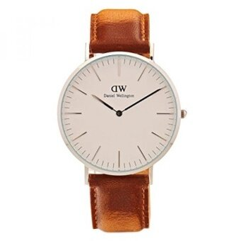 Daniel Wellington Classic Quartz Stainless Steel and Leather Casual Watch Color:Brown (Model: DW00100110) - intl