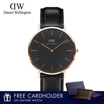 Daniel Wellington Dapper St Mawes 34mm Watch with Free Cardholder