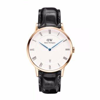 Daniel Wellington Mens Rose gold DW00100107 Classic Oxford Analog Quartz Watch - intl